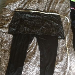 Legacy skirted ankle legging nwt